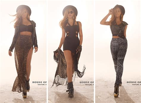 Beyonce Stuns in House of Dereon Fall 2012 Promotional Photos