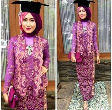 model baju kebaya wisuda muslim modis kebaya pinterest kebaya models  hijabs