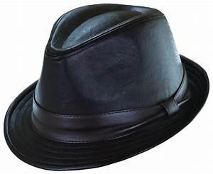 Mens Teardrop Shape 1.5 Inch Brim Fedora Hat by Dorfman ...
