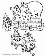 Circus Coloring Pages Ringmaster Preschool Performer Printable Performing Animal Getdrawings Theme Bears Featuring Lots Animals Getcolorings Seals Performe sketch template