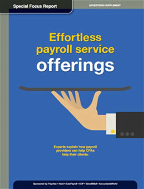 special focus report effortless payroll service offerings