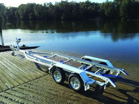 Tandem Aluminum Boat Trailer by Tandem Boat Trailer To Suit Aluminium Boats Up To 6 7m For