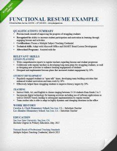 Chronological Resume Versus A Functional Resume by Top 3 Resume Formats Exles Writing Tips Resume Genius