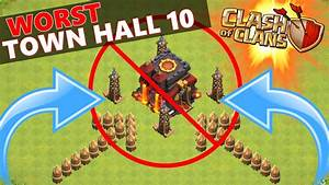 Worst clash of clans base ever