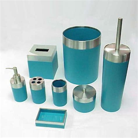 turquoise bathroom set cylinder lemon green bathroom accessories set buy green