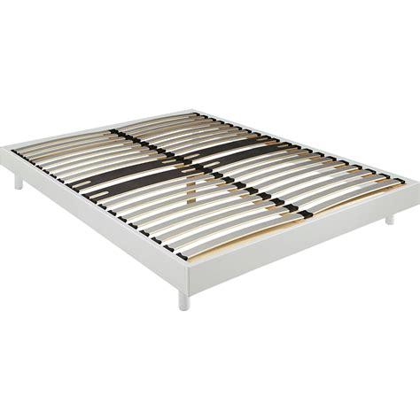sommier tapissier 160x200 sommier tapissier blanc alin 233 a 12 5 cm en kit 160x200 cm