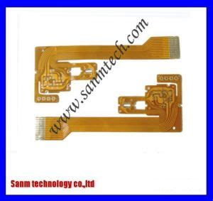 China Golden Finger Fpc Flexible Printed Circuit Board