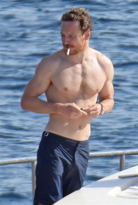 My New Plaid Pants Michael Fassbender Is Still On A Boat