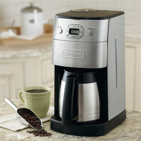 It's hard to use when you choose. Cuisinart Grind & Brew Thermal Coffee Maker - from Sportys Preferred Living
