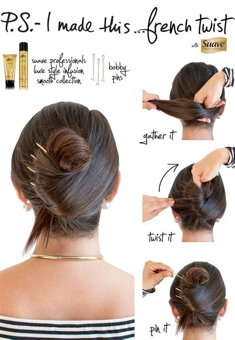 best 25 easy french twist ideas on pinterest french