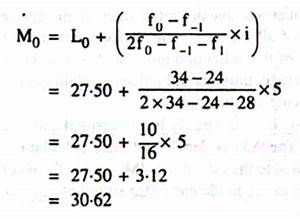 Formula Of Statistics Mean Mode Median. Worksheets ...