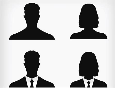 Free Vector Picture by 20 Free Silhouettes Vector Packs