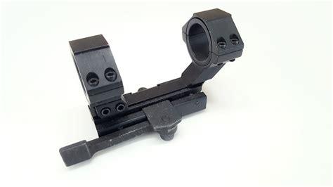 ncstar  piece quick release scope mount weaver styleintegral mm rings