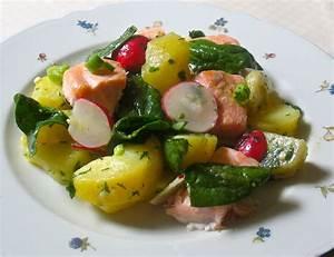 Salat Mit Spinat : kartoffel spinat salat mit lachs und radieschen scheckenlaks ~ Orissabook.com Haus und Dekorationen