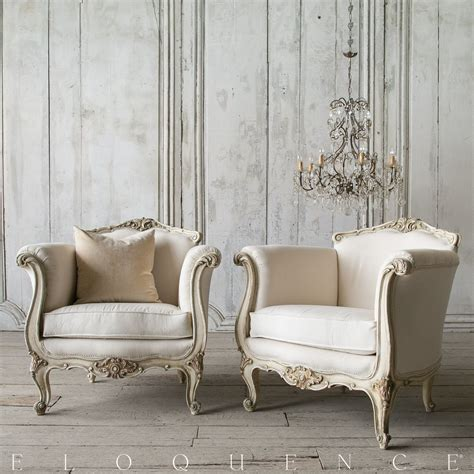 eloquence furniture eloquence 174 pair of vintage bergeres circa 1940