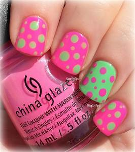Top pretty in pink nail designs