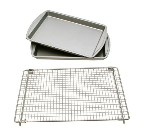 baking rack sheets cooling sheet chef basic piece supplies overstock cookies