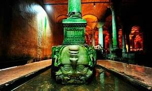 Upside down Medusa - Picture of Basilica Cistern, Istanbul ...