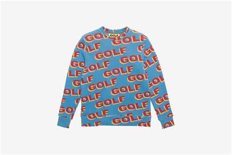 golf nike blue shirt golf wang 3d golf sweater what drops now