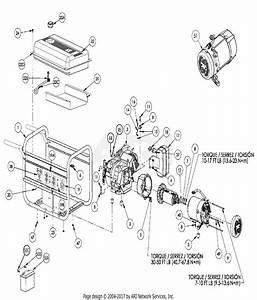 Homelite Bm10700 Generator Parts Diagram For General Assembly