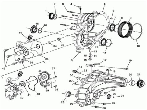 Chevy Silverado Transfer Case Diagram Wiring Forums