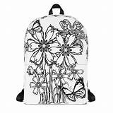 Backpack Coloring Colouring Backpacks Unique Bag Theme Lovers Looking Kind Fun sketch template