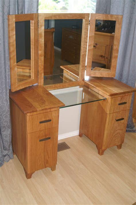 woodwork makeup dresser plans  plans