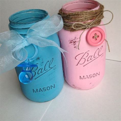 Mason Jar Baby Shower Decorations by 25 Best Ideas About Baby Shower Cap On Pinterest How To