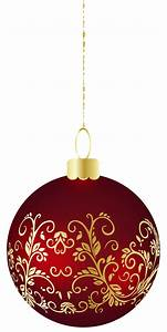 Large Transparent Christmas Ball Ornament PNG Clipart ...