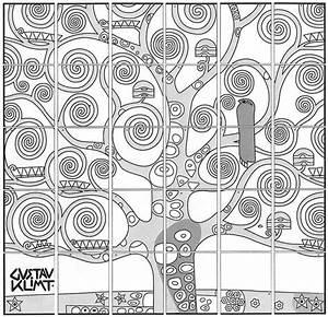 Klimt U2019s Tree Of Life Mural Diagram
