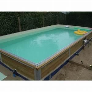 Piscine Enterrée Rectangulaire : la piscine bois enterr e ecotika sp ciale des piscines bois ~ Farleysfitness.com Idées de Décoration