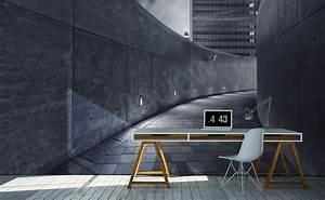 Papier Peint Style Industriel : papiers peints tunnels mur aux dimensions ~ Dailycaller-alerts.com Idées de Décoration