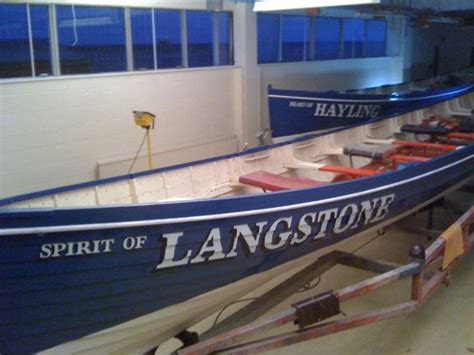 Boat Names Using Reel by Classic Racing Gig Rowing Boats Re Named Osborne Signs