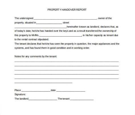 handover protocol template handover protocol template