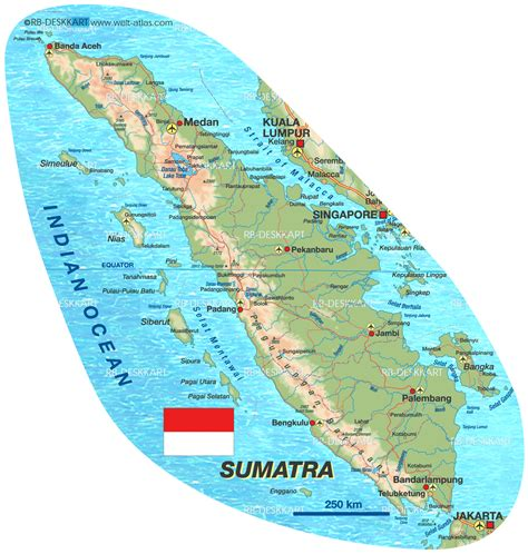 map  sumatra island  indonesia welt atlasde