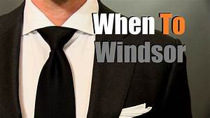 Half windsor knot dimple imagemart how to tie a tie skinny ties when to wear a windsor knot mens ties tips and advice youtube ccuart Images