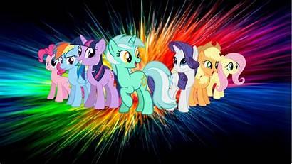 Pony Wallpapers Background Backgrounds Desktop Magic Mlp