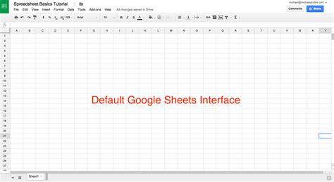 create   spreadsheet   google sheets