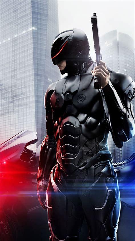 robocop  full body armor iphone  wallpaper hd