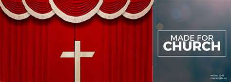 Backdrop Church by Church Altar Curtains With Cross Stage Backdrop Church