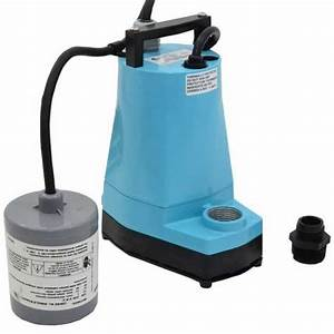 Automatic Submersible Utility  Sump Pump W   Wide Angle