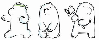 Bears Bare Coloring Pages Bear Ice Meme