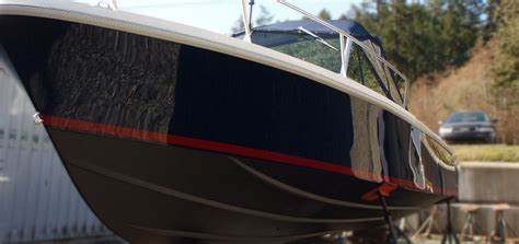 Boat Deck Refinishing by Hull And Deck Refinishing Blackline Marine