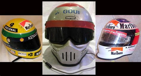 Find of the Day: 10 Famous Racing Driver Helmets up for ...