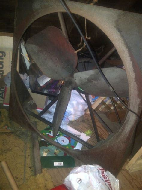 this old house attic fan lau blowing company industrial fan info needed pre 1950