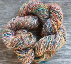 Custom Handspun Merino Wool and Silk Blend yarn | Nancy ...  Silk
