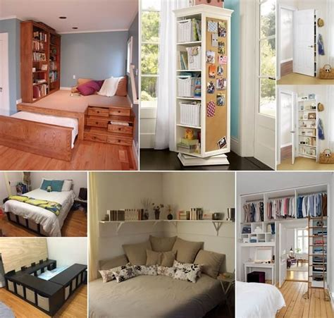 Small Bedroom Storage Ideas by 15 Clever Storage Ideas For A Small Bedroom