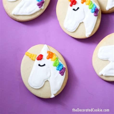 decorate unicorn cookies unicorn food idea video