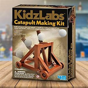 Make Your Own Wooden Catapult Kit