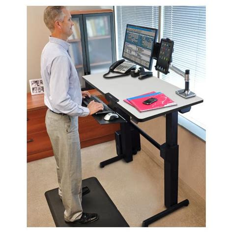 Ergotron Sit Stand Desk Manual by Ergotron Workfit D Sit Stand Desk